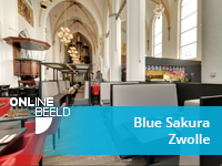 Virtuele tour Restaurant Blue Sakura Zwolle