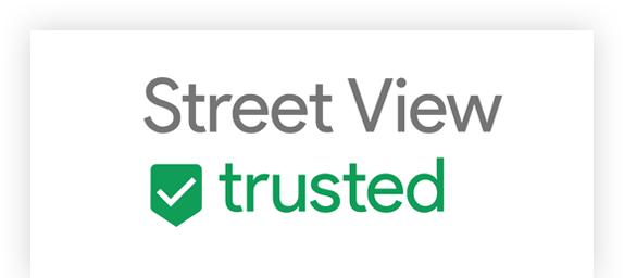 Logo Google Certified Streetview Trusted